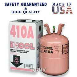 R410a, R410a Refrigerant 25lb tank New Factory Sealed, Lowest on Ebay MADE IN USA