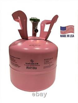 R410a R-410a R 410a Refrigerant 7.5lb Tank New Factory Sealed (MADE IN USA)