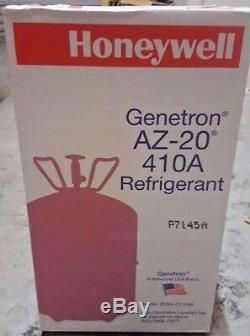 R410a, R-410a Refrigerant 25 lb. Tank, Honeywell, USA MADE Product! , Sealed
