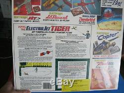 RARE VICTOR STANZEL ELECTRO JET TIGER AIRPLANE SEALED. Made in USA