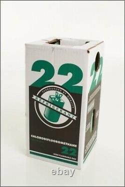 R-22 REFRIGERANT 30lbs. NEW IN BOX / SEALED IMMEDIATE SHIPPING. MADE IN USA