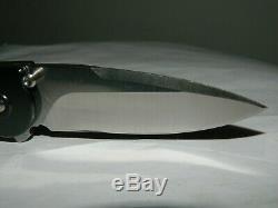 Rare Buck 297 Tempest (25 Made) U. S. Navy Seals Assisted Folding Knife