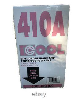 Refrigerant 410A 25lb Factory Sealed MADE IN USA! HVAC Heat Pump R410A Jug New