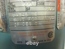 Reliance Motor HP1/4 Never used UA345TE Enclosed sealed Type CS Made USA 1725