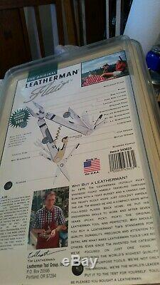 SEALED NOS LEATHERMAN USA MultiTool Stainless Steel Made in USA Free Ship