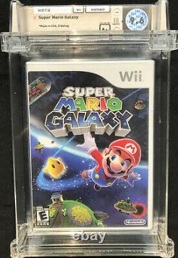 SEALED WATA 9.6 A+ Super Mario Galaxy Made in USA (Nintendo Wii, 2007)