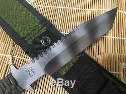 STRIDER SEAL 2000 custom knife. ATS34 made in USA. Navy SEAL Team 6 DEVGR SOE