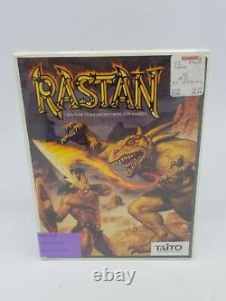 Sealed! 1989 Rastan Taito Apple II GS made In USA 0589 0590
