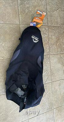 Seals Extreme Tour Kayak Spray Skirt NWT 1.7 Black Made in USA