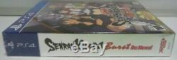 Senran Kagura Burst Renewal Tailor Made Limited Sony Ps4 USA New Sealed Nuovo