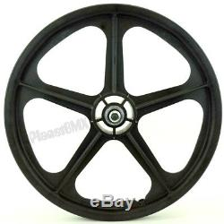 Skyway 20 TUFF WHEELS II old school bmx sealed Mags BLACK Made in the USA Retro