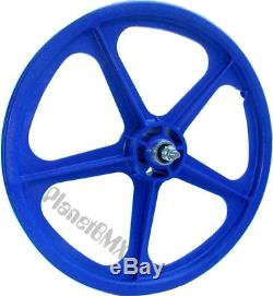Skyway 20 TUFF WHEELS II old school bmx sealed Mags BLUE Made in the USA Retro