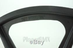 Skyway BMX 24 TUFF WHEELS cruiser Mags in BLACK sealed bearing hubs USA MADE