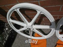 Skyway Tuffwheel 24 White New in the box never mounted USA Made sealed bearing