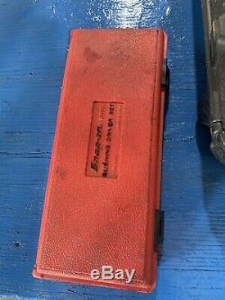 Snap-on Tools Bushing Driver Set A158b Made In USA Bearing Race Seal