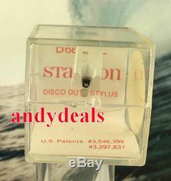 Stanton D6800EL new old stock flag seal never broken. Unopened MADE IN USA