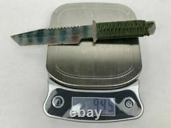 Strider Seal 2000 Military Survival Knife Made In USA Paracord Handle & Sheath