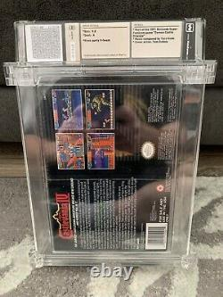 Super Castlevania IV Super Nintendo SNES WATA 9.0 A New Sealed Made in Japan 4