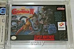 Super Castlevania IV Super Nintendo SNES WATA 9.4 A+ New Sealed Made in Japan 4