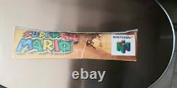 Super Mario 64 authentic Sealed and made in Japan