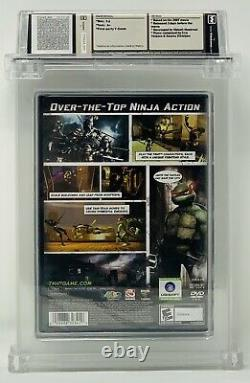 TMNT Wata Sealed 9.6 A+ Playstation 2 2007. Made in USA, E10+ Rating