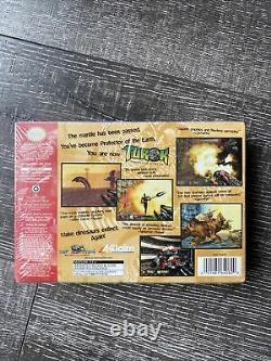 TUROK DINOSAUR HUNTER NEW MEGA RARE N64 NINTENDO 64 1997 Made in Japan Sealed