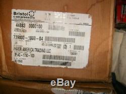 USA Made BRISTOL freon r 22 refrigerant COMPRESSOR FACTORY AIR SEALED New box