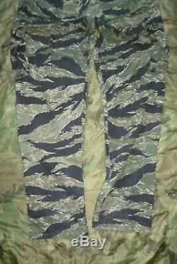 US Tiger Stripe Products + Woodland Trousers Hose Made in USA post Vietnam Seals