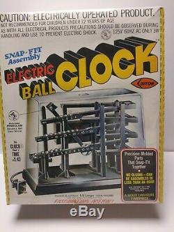 Vintage 1970's Arrow Handicraft Electric Ball Clock New Sealed Rare Made in USA