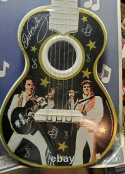 Vintage Elvis Presley Toy Guitar 1984 Made In USA Lapin Prd. NJ Sealed