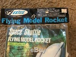 Vintage Estes Space Shuttle Flying Model Rocket #1284 NEW Sealed NIP Made In USA