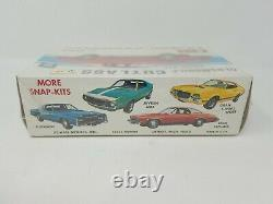 Vintage JOHAN Red Oldsmobile Cutlass SNAP-KIT 1/25 Model Factory Sealed USA MADE