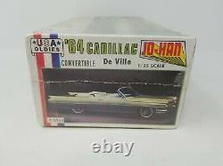 Vintage Johan 1964'64 Cadillac DeVille Model Kit 1/25 Factory Sealed USA MADE