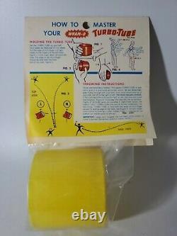 Vintage SEALED 1966 WHAMO TURBO TUBE YELLOW MADE IN USA RARE