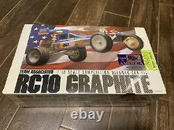 Vintage Team Associated 6030 RC10 Graphite Edition NIB Sealed Made In USA
