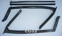 Weatherstrip Seal Vent Window Rubber Jeepster 66-73 Commando USA Made Door Glass