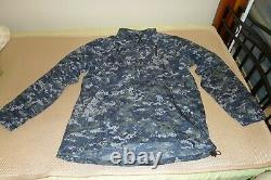 Wild Things NWU Level 4 Windshirt L Navy SEAL NSW made in USA Free US shipping