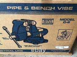 Wilton C2 Bench Vise 5 Jaw NEW in Sealed Box MADE IN USA